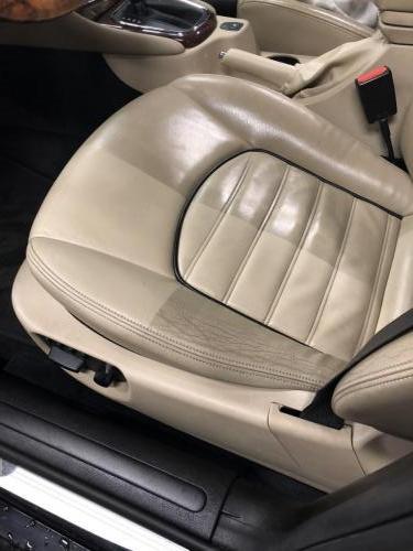 Jaguar X-Type - Rens av førersete